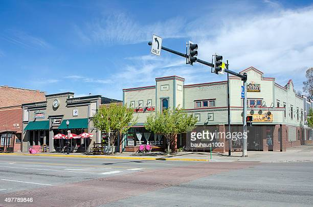 steamboat springs, colorado - steamboat springs colorado - fotografias e filmes do acervo