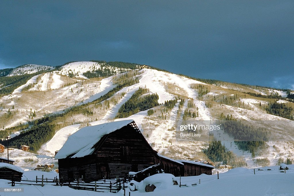 Steamboat Springs Colorado : Stock Photo