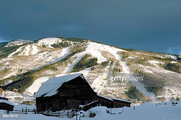 steamboat springs colorado - steamboat springs colorado - fotografias e filmes do acervo