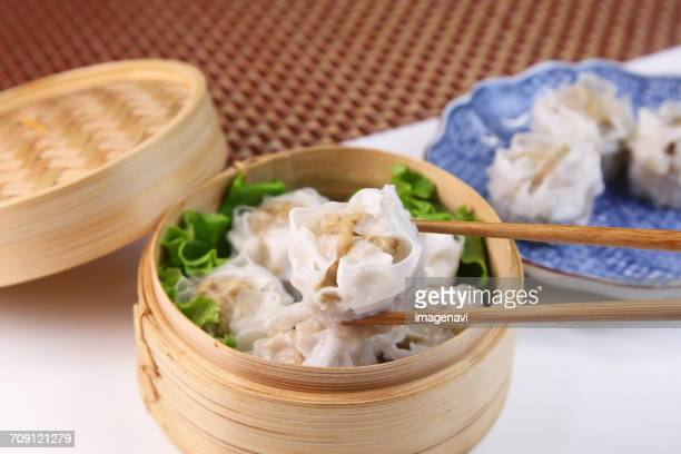 Steamed Chinese pork dumpling