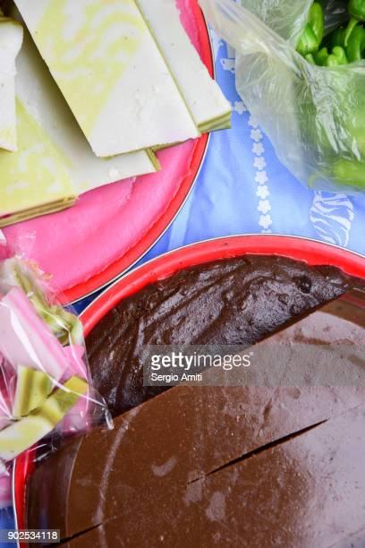 Steamed Coconut-Pandan Cake (Khanom Chan)