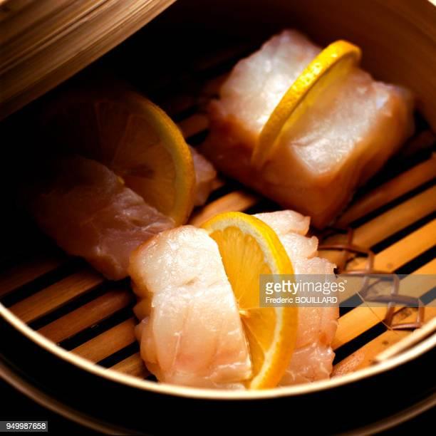 Steamed cod Cabillaud à la vapeur