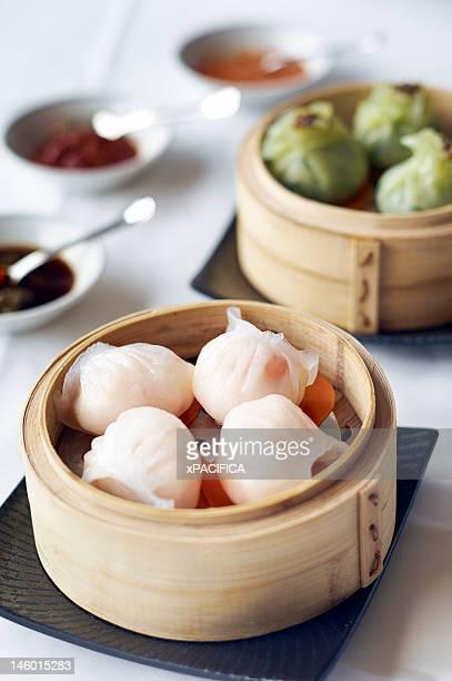 Steamed Har Gow or Shrimp Dumpling