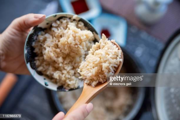 steamed rice - 米 ストックフォトと画像