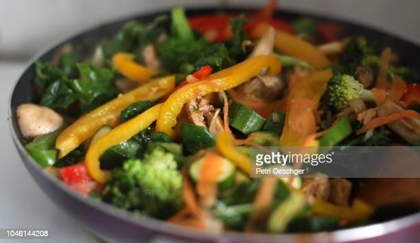 steamed vegetables. - 蒸し ストックフォトと画像