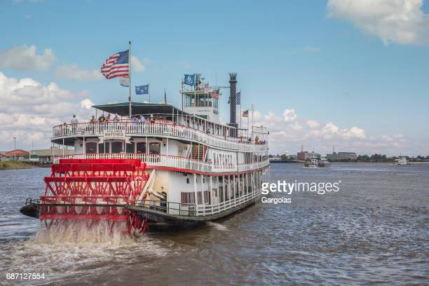 steamer natchez in new orleans, louisiana, usa - mississippi river stock pictures, royalty-free photos & images