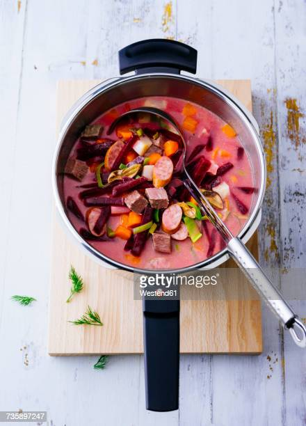 Steamer of Borscht