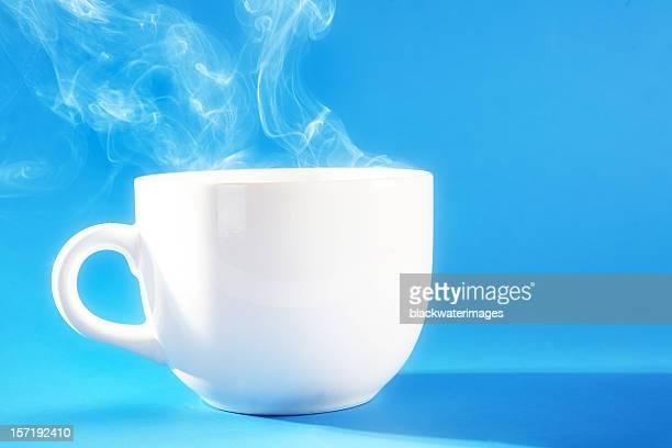 Tasse de café chaud.