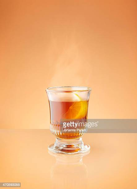 Steaming hot toddy