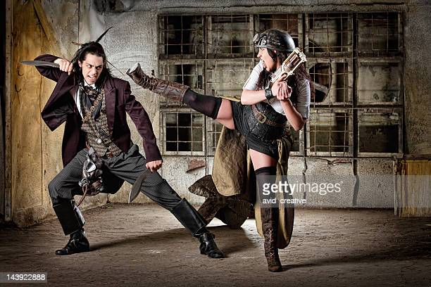 487 Steampunk Woman Photos And Premium High Res Pictures Getty Images