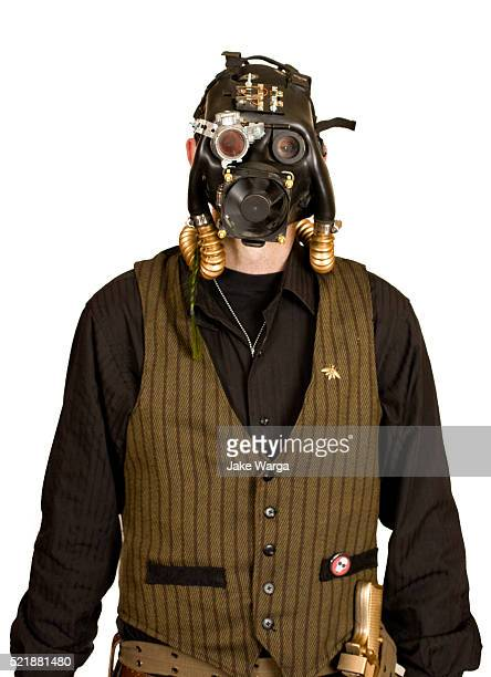 steampunk convention attendee - jake warga stock pictures, royalty-free photos & images
