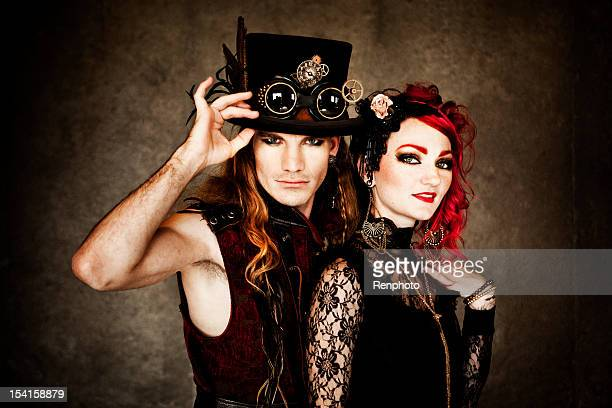 Steampunk Fashion Couple