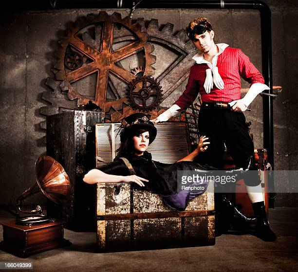 Steampunk Fashion Couple