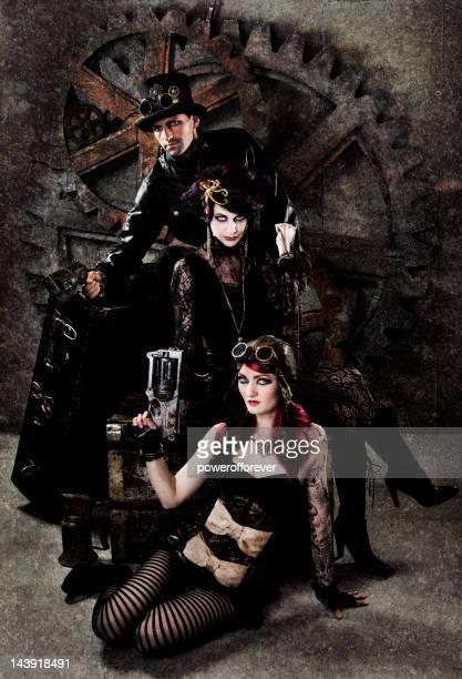 Steampunk Gang Porträt