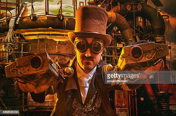 Steampunk Gunslinger
