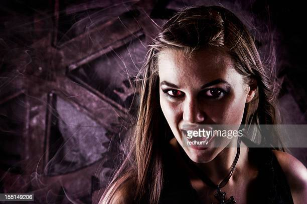 steampunk vampire - vampire stock photos and pictures