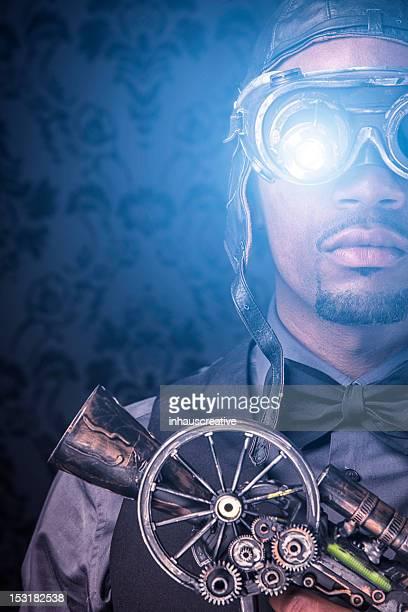 Steampunk Xray Vision Warrior