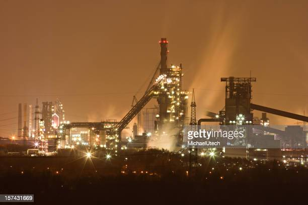 Steamy Steel Plant