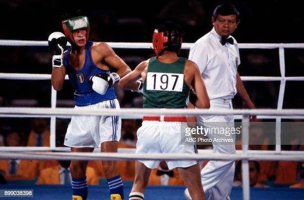 Stecca Lopez Men's boxing competition Memorial Sports Arena at the 1984 Summer Olympics