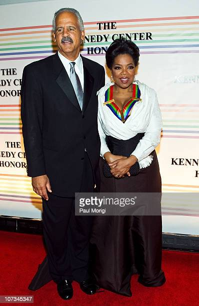 Stedman Graham and Honoree Oprah Winfrey attend the 33rd Annual Kennedy Center Honors at the Kennedy Center Hall of States on December 5 2010 in...