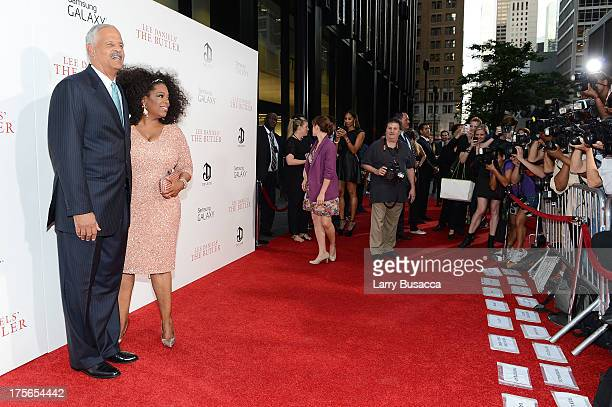 """Stedman Graham and Oprah Winfre attend Lee Daniels' """"The Butler"""" New York Premiere, hosted by TWC, Samsung Galaxy and DeLeon Tequila on August 5,..."""