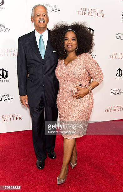 """Stedman Graham and Oprah Winfrey attend """"The Butler"""" premiere at Ziegfeld Theater on August 5, 2013 in New York City."""