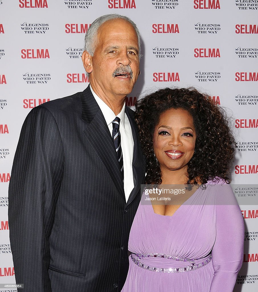 Stedman Graham and Oprah Winfrey attend the 'Selma' and the Legends Who Paved the Way gala at Bacara Resort on December 6, 2014 in Goleta, California.