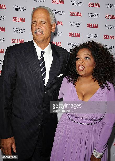 """Stedman Graham and Oprah Winfrey attend the """"Selma"""" and the Legends Who Paved the Way gala at Bacara Resort on December 6, 2014 in Goleta, California."""