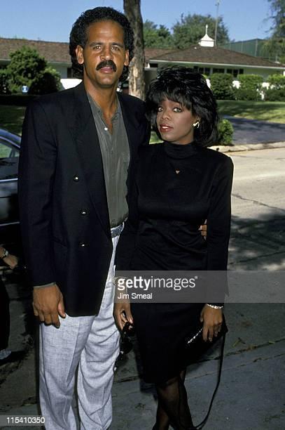 Stedman Graham and Oprah Winfrey during 15th Annual Rape Treatment Center Brunch - September 24, 1989 at Sandra Moss in Holmby Hills, California,...