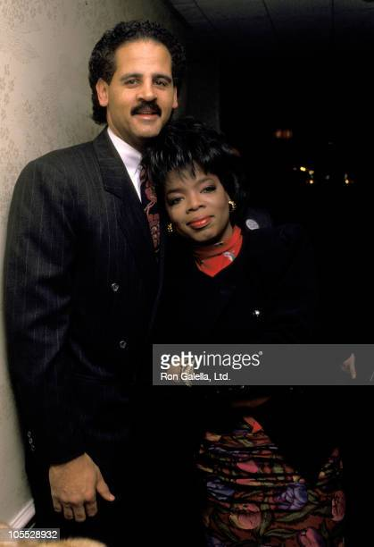 Stedman Graham and Oprah Winfrey during 9th Annual National Conference For Women at New York Hilton Hotel in New York City, New York, United States.