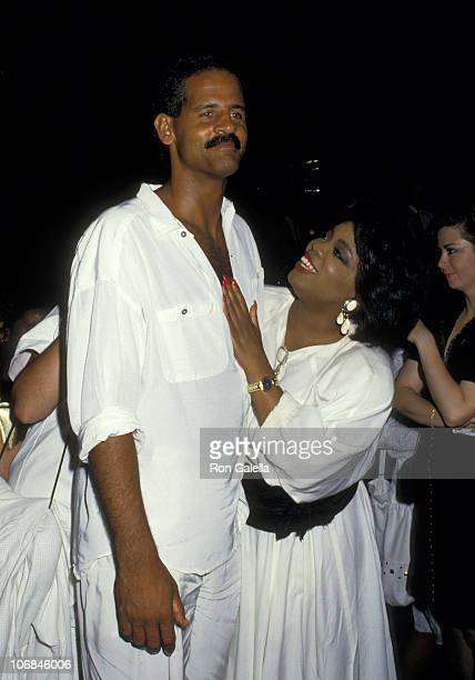 Stedman Graham and Oprah Winfrey during Oprah Winfrey and Stedman Graham Sighting at Stingfellow's Restaurant after the 14th Annual Daytime Emmys at...