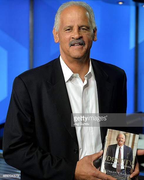 Stedman Graham talks about his career and upcoming appearance at the Toronto Black Film Festival at The Morning Show Studios on February 13, 2014 in...
