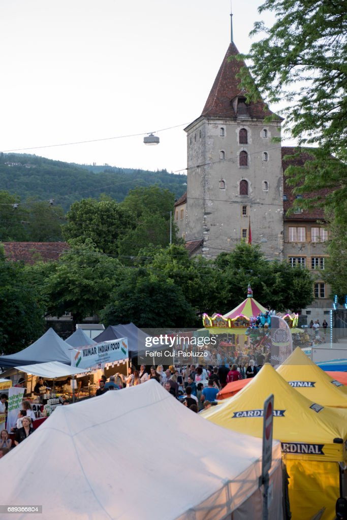 Stedtlifescht, Nidau Canton, Bern, Switzerland : Stock Photo