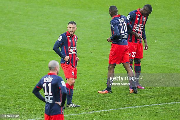 Steed Malbranque of Caen during the Ligue 1 match between SM Caen and AS SaintEtienne at Stade Michel D'Ornano on October 23 2016 in Caen France