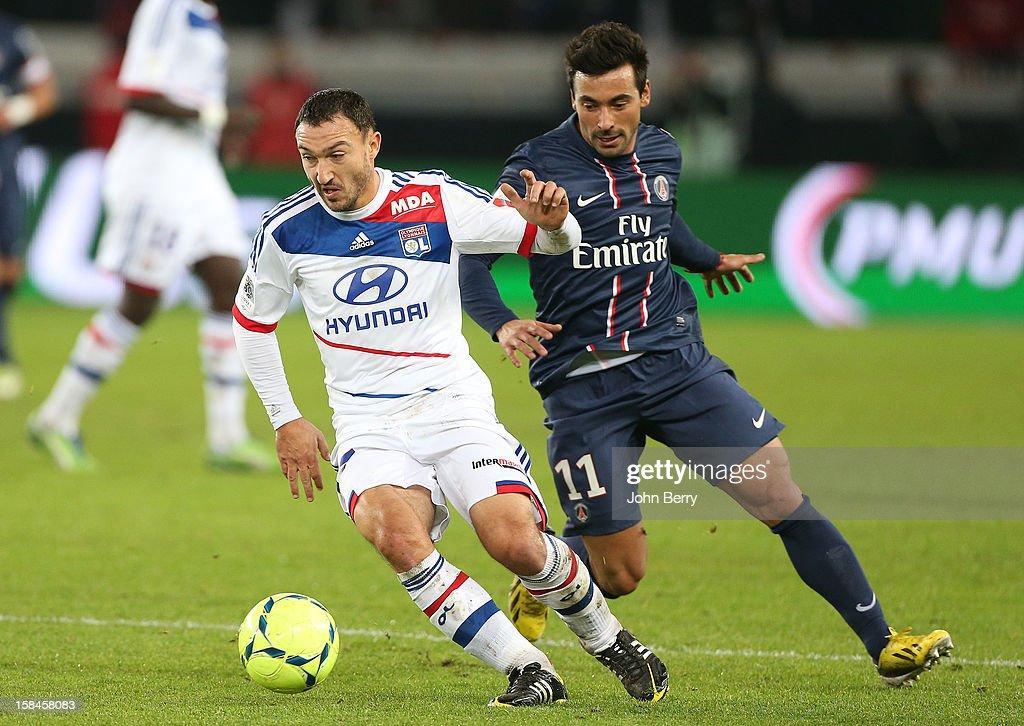 Paris Saint-Germain FC v Olympique Lyonnais - Ligue 1