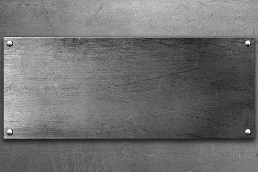 Steel background 624894566