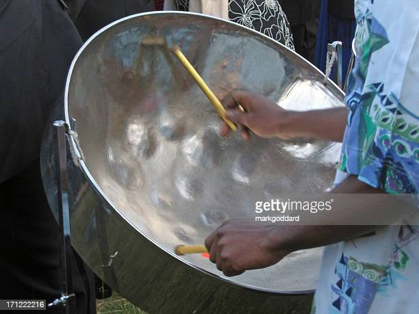 steel band - steel drum stock photos and pictures