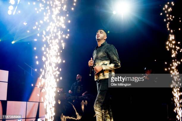 Steel Banglez performs at O2 Academy Brixton on November 11, 2019 in London, England.