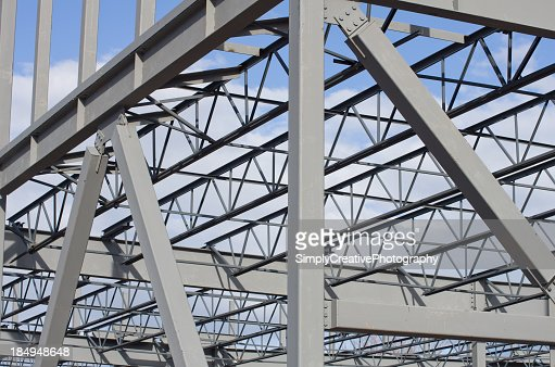 Steel Construction Background Stock Photo Getty Images