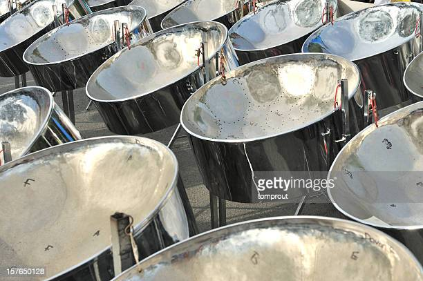 steel drums - steel drum stock photos and pictures