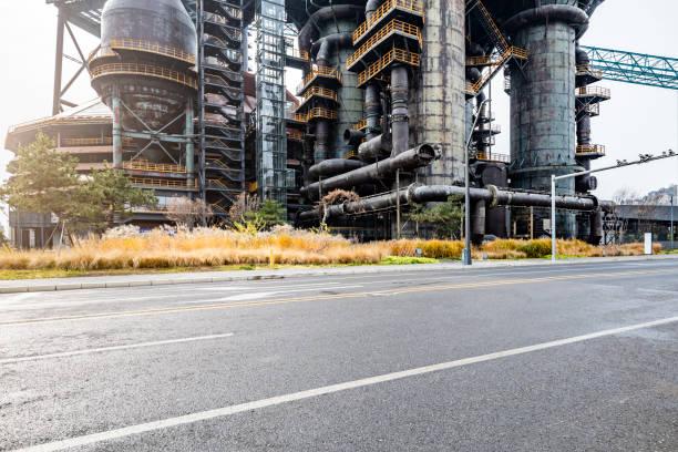 Steel factory in Beijing
