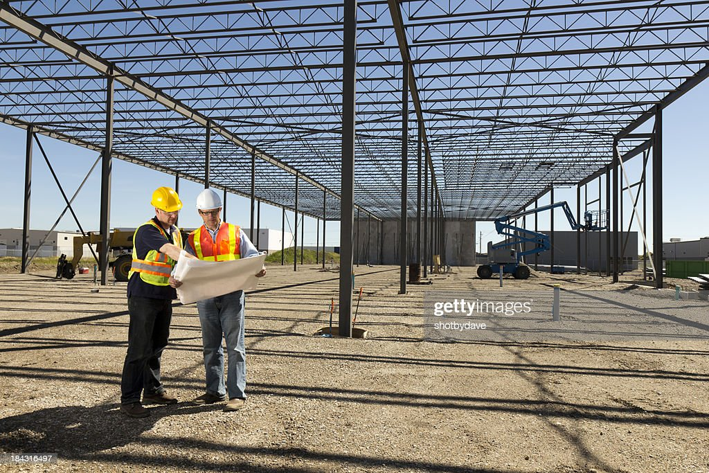 Steel Frame Blueprints Stock Photo Getty Images