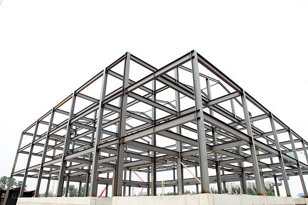 Free steel frame construction Images, Pictures, and Royalty-Free ...