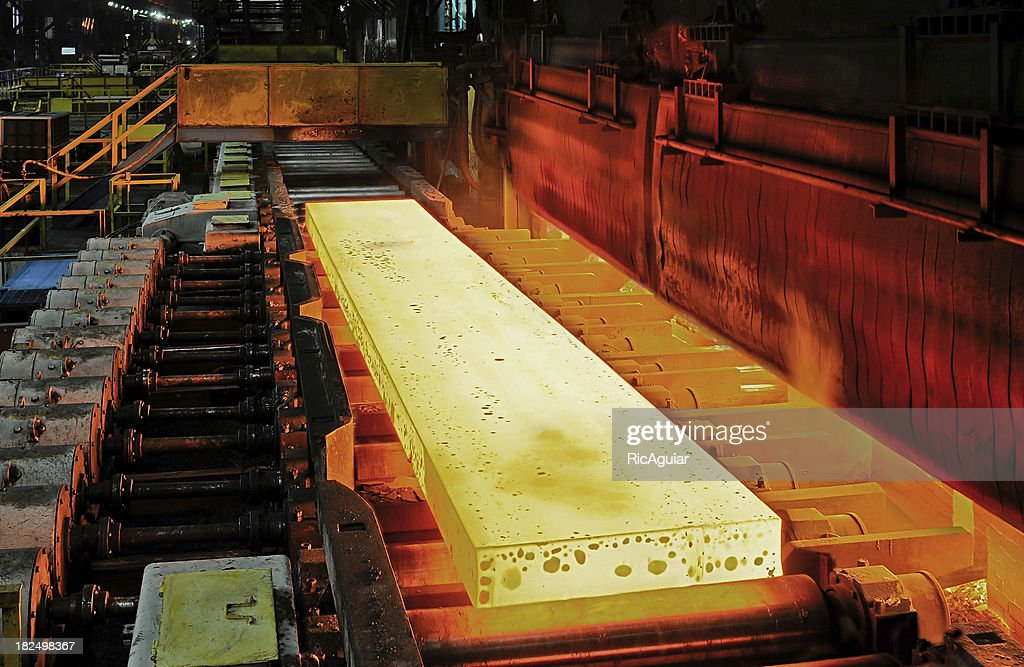 steel industry : Stock Photo