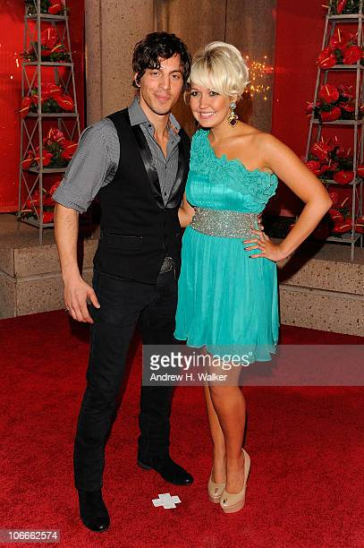 Steel Magnolia Joshua Scott Jones and Meghan Linsey attend the 58th Annual BMI Country Music Awards at BMI on November 9 2010 in Nashville Tennessee