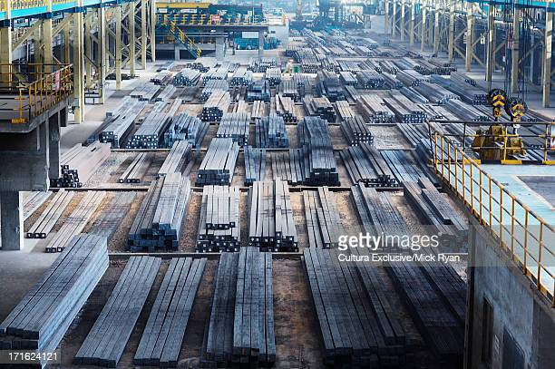 Steel manufacturing plant, Shanghai, China