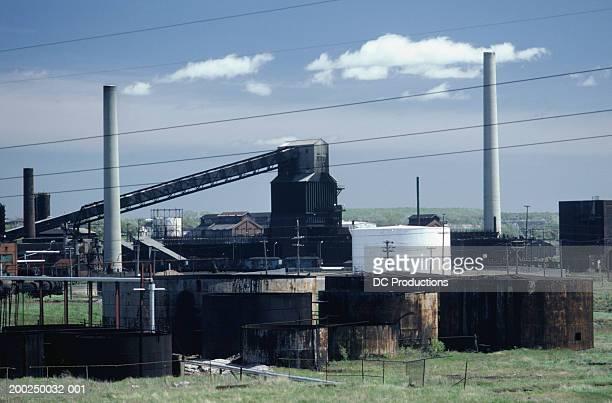 steel mill in sydney, nova scotia, canada - sydney fotografías e imágenes de stock