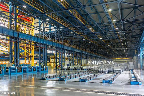 Steel Mill interior view