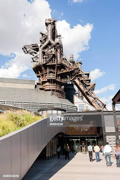 steel museum at parque fundidora in monterrey - nuevo leon stock pictures, royalty-free photos & images