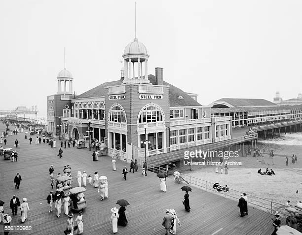 Steel Pier Atlantic City New Jersey USA circa 1915